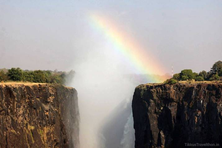 The Rainbow at the Falls of Victoria - Livingstone, Zambia