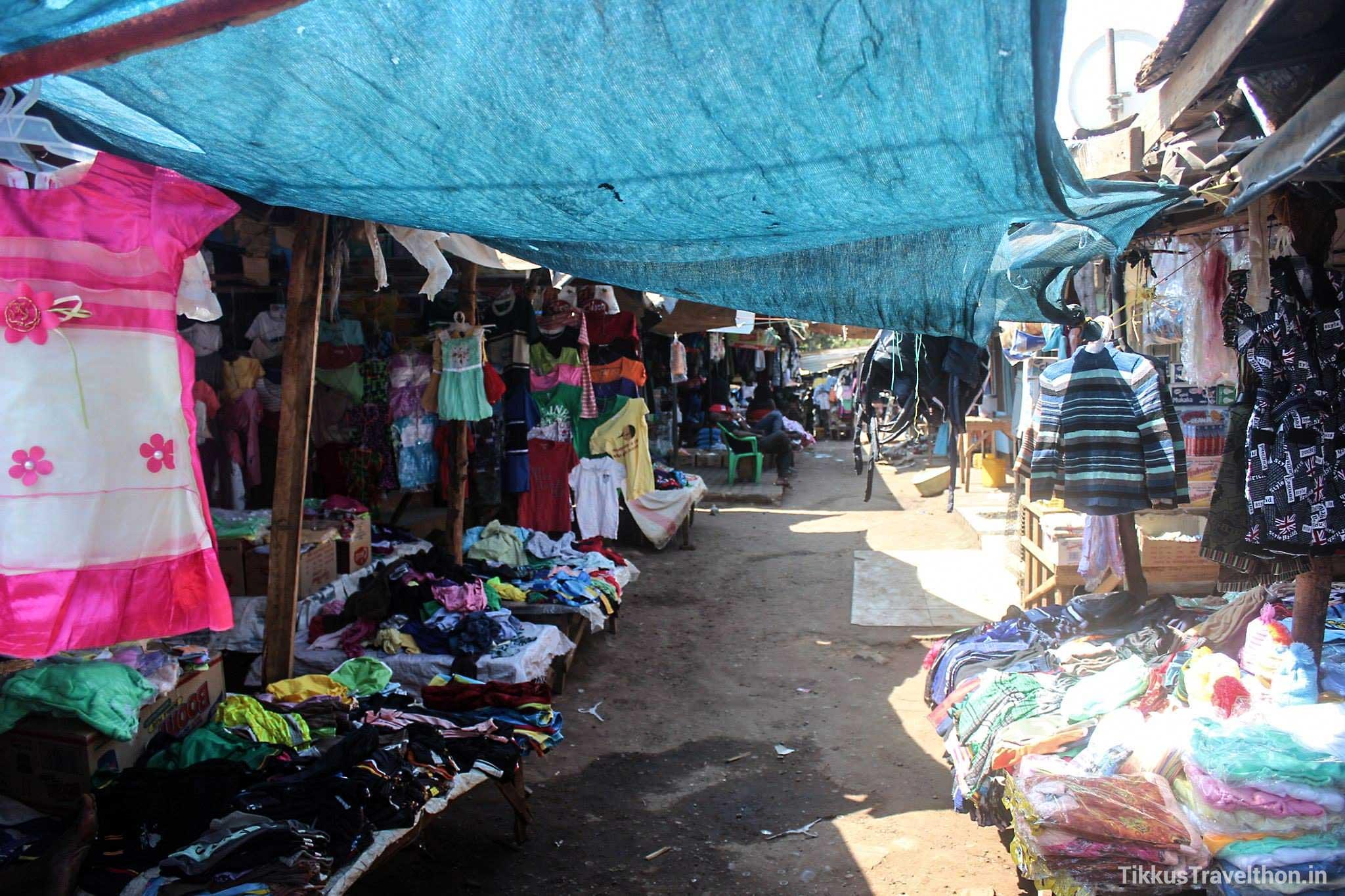 Fashion Street in Zambia - the Livingstone markets!
