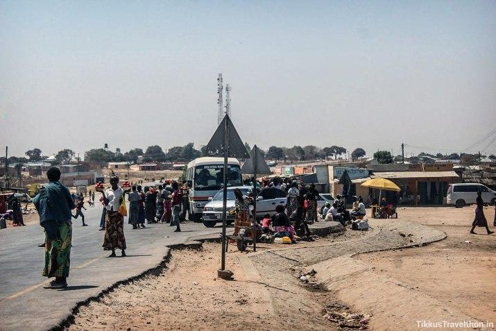 Riding the Highway, Lusaka to Livingstone - Tikku's Africa Raid, September 2016