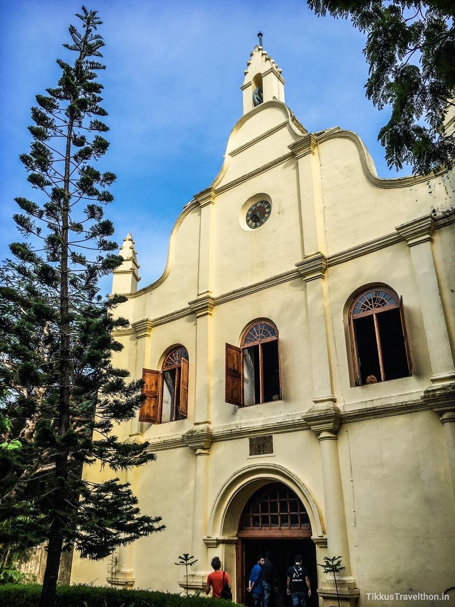 Vasco da Gama died in Kochi and was originally buried in St. Francis Church.