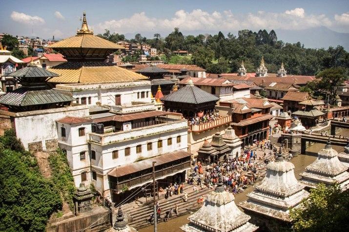 Pashupati Nath Temple in Kathmandu, Nepal.