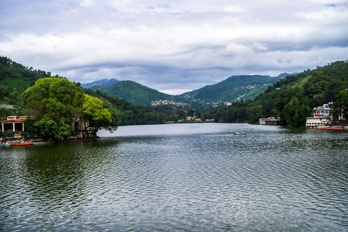 Bhimtal Lake in Uttarakhand where Bhima's mace had fallen.