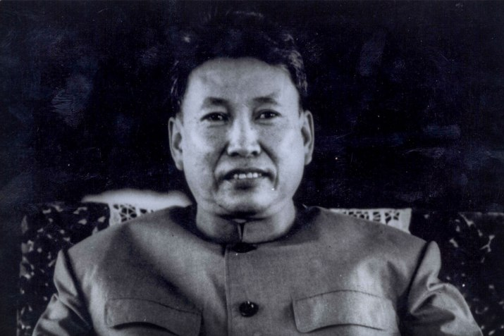 A picture of Pol Pot, the man responsible for deaths of 25 percent of the Cambodian population.