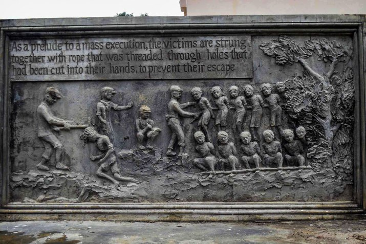 A Carving of the Mass Execution.