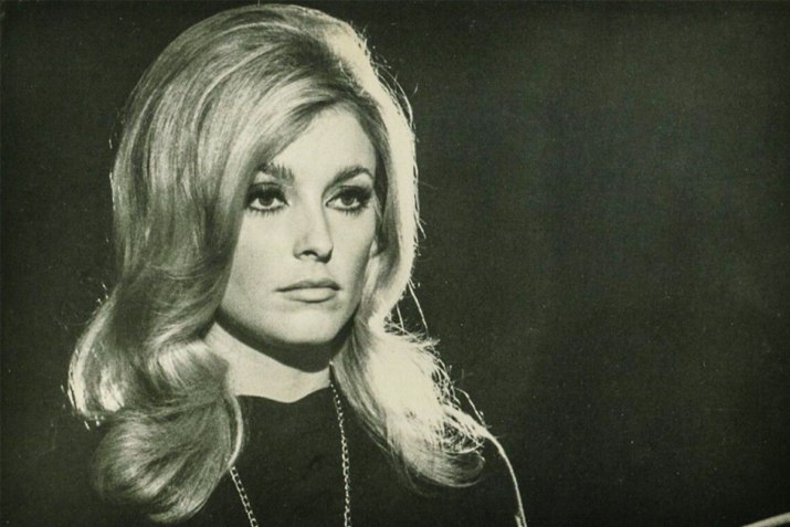 Sharon Tate, the wife of Roman Polanski who was murdered when she was eight-and-a-half months pregnant.