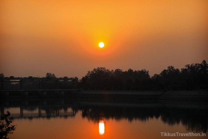 The next morning, a beautiful dawn, a new beginning.
